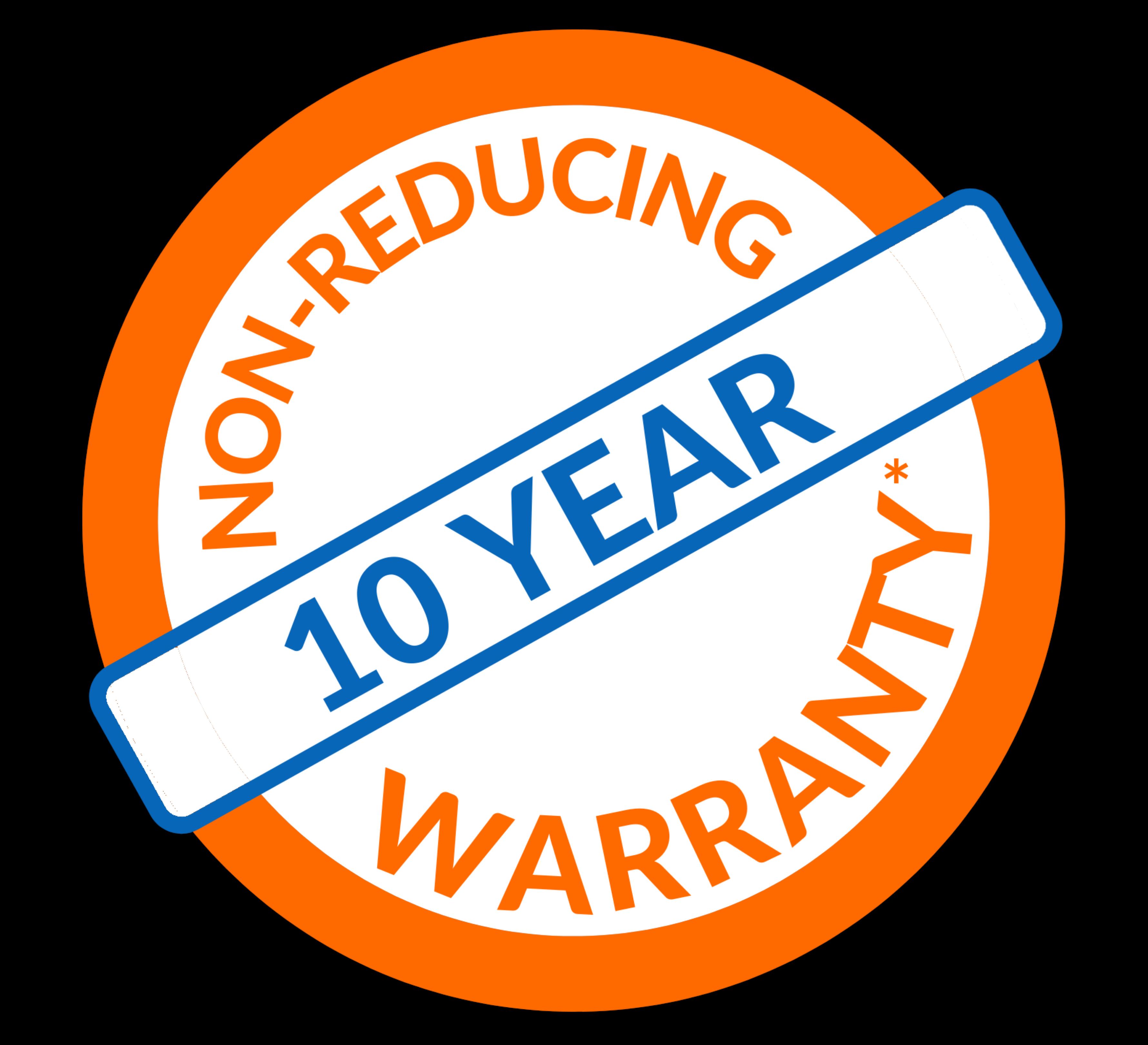 Non Reducing Warranty