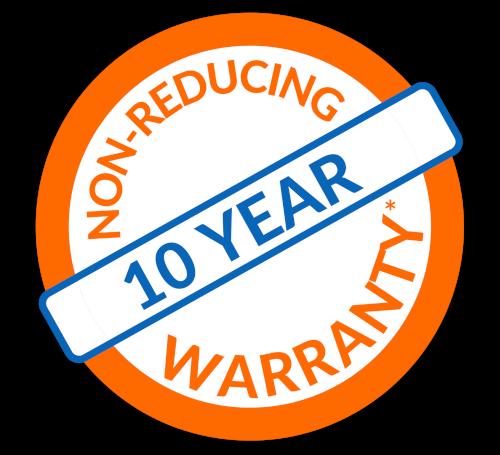 Non-Reducing Warranty