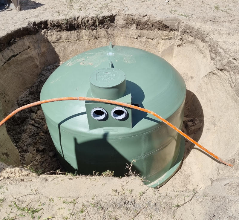 Installing Underground Tanks